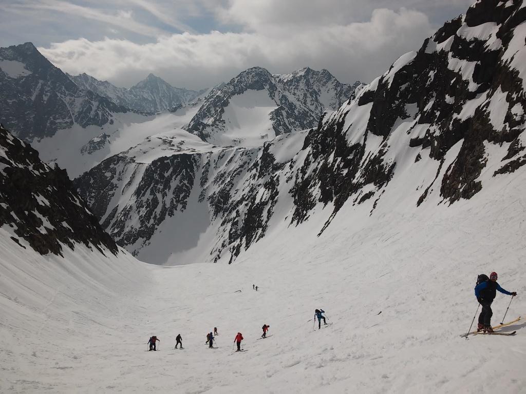 Ledovec Grüne-Tatzen-Ferner