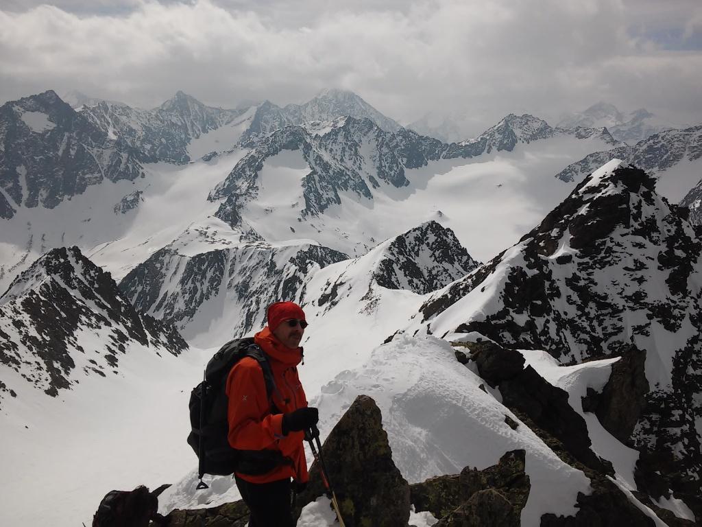 David pod vrcholem Hoher Seeblaskogel